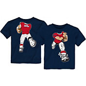 Outerstuff Toddler Ole Miss Rebels Blue Football Dreams T-Shirt