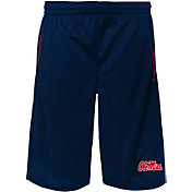 Outerstuff Youth Ole Miss Rebels Blue Vector Performance Shorts