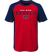 Gen2 Youth Ole Miss Rebels Red/Blue Circuit Breaker Performance T-Shirt