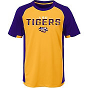 Outerstuff Youth LSU Tigers Gold/Purple Circuit Breaker Performance T-Shirt