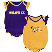 Outerstuff Infant LSU Tigers Purple/Gold Homecoming 2-Piece Onesie Set