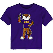 Outerstuff Toddler LSU Tigers Purple Standing Mascot T-Shirt