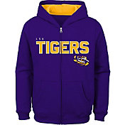 Outerstuff Youth LSU Tigers Purple Full-Zip Fleece Hoodie