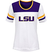 Outerstuff Girls' Michigan Wolverines White/Purple Tailback T-Shirt