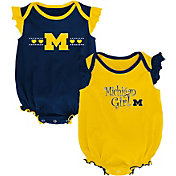 Outerstuff Infant Michigan Wolverines Blue/Maize Homecoming 2-Piece Onesie Set
