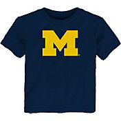 Gen2 Toddler Michigan Wolverines Blue Standing Mascot T-Shirt
