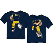 Gen2 Toddler Michigan Wolverines Blue Football Dreams T-Shirt