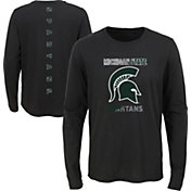 Outerstuff Youth Michigan State Spartans Ultra Long Sleeve Black T-Shirt