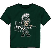 Outerstuff Toddler Michigan State Spartans Green Standing Mascot T-Shirt