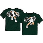 Outerstuff Toddler Michigan State Spartans Green Pom Pom Cheer T-Shirt