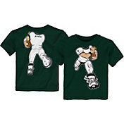 Outerstuff Toddler Michigan State Spartans Green Football Dreams T-Shirt