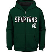 Gen2 Youth Michigan State Spartans Green Full-Zip Fleece Hoodie