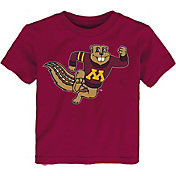 Outerstuff Toddler Minnesota Golden Gophers Maroon Standing Mascot T-Shirt