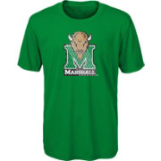 Outerstuff Youth Marshall Thundering Herd Green Ex Machina Performance T-Shirt