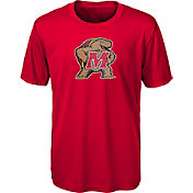 Outerstuff Youth Maryland Terrapins Red Ex Machina Performance T-Shirt