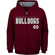 Gen2 Youth Mississippi State Bulldogs Maroon Full-Zip Fleece Hoodie