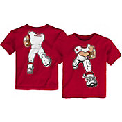 Gen2 Toddler Nebraska Cornhuskers Scarlet Football Dreams T-Shirt