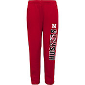 Gen2 Youth Nebraska Cornhuskers Scarlet Origin Fleece Pants