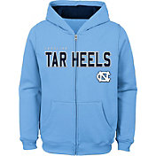 Gen2 Youth North Carolina Tar Heels Carolina Blue Full-Zip Fleece Hoodie