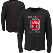 Outerstuff Youth NC State Wolfpack Ultra Long Sleeve Black T-Shirt