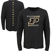 Gen2 Youth Purdue Boilermakers Ultra Long Sleeve Black T-Shirt