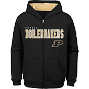 Outerstuff Youth Purdue Boilermakers Full-Zip Fleece Black Hoodie