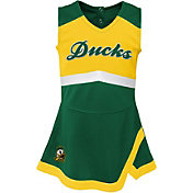 Gen2 Toddler Girls' Oregon Ducks Green Cheer Captain 2-Piece Jumper Dress