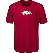 Outerstuff Boys' Arkansas Razorbacks Cardinal Ex Machina Performance T-Shirt