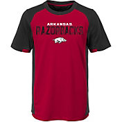 Outerstuff Youth Arkansas Razorbacks Cardinal/Black Circuit Breaker Performance T-Shirt