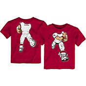Outerstuff Toddler Arkansas Razorbacks Cardinal Football Dreams T-Shirt