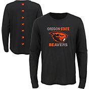 Gen2 Youth Oregon State Beavers Ultra Long Sleeve Black T-Shirt