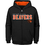 Gen2 Youth Oregon State Beavers Full-Zip Fleece Black Hoodie