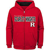 Outerstuff Youth Rutgers Scarlet Knights Scarlet Full-Zip Fleece Hoodie