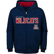 Gen2 Youth Arizona Wildcats Navy Full-Zip Fleece Hoodie