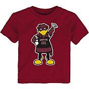 Gen2 Toddler South Carolina Gamecocks Garnet Standing Mascot T-Shirt