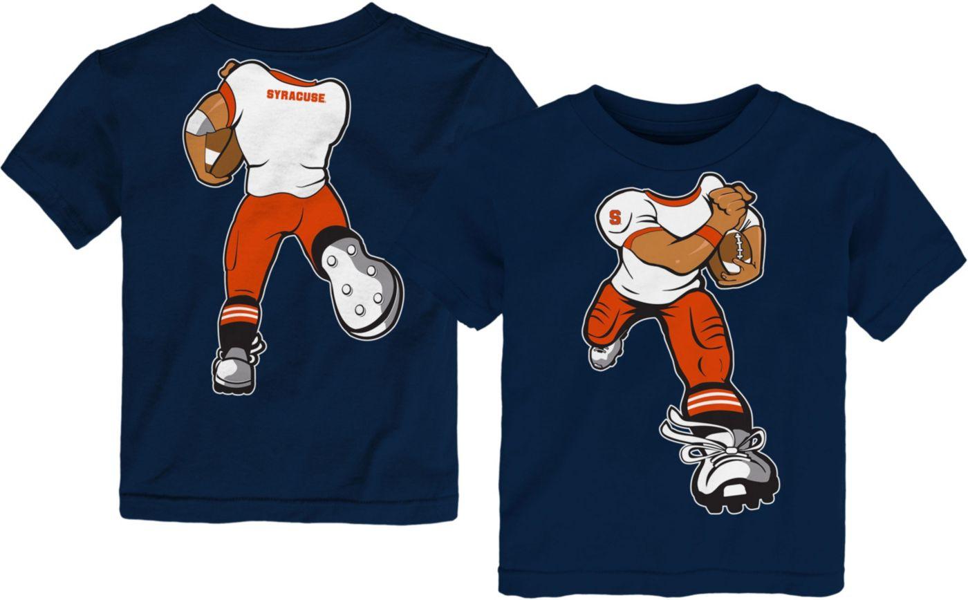 Gen2 Toddler Syracuse Orange Blue Football Dreams T-Shirt