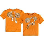 Outerstuff Toddler Tennessee Volunteers Tennessee Orange Pom Pom Cheer T-Shirt