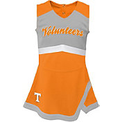 Gen2 Girls' Tennessee Volunteers Tennessee Orange Cheer Captain 2-Piece Jumper Dress