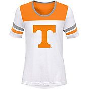 Outerstuff Girls' Tennessee Volunteers White/Tennessee Orange Tailback T-Shirt
