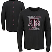Outerstuff Youth Texas A&M Aggies Ultra Long Sleeve Black T-Shirt