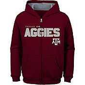 Outerstuff Youth Texas A&M Aggies Maroon Full-Zip Fleece Hoodie