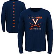 Outerstuff Youth Virginia Cavaliers Blue Ultra Long Sleeve T-Shirt