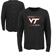 Outerstuff Youth Virginia Tech Hokies Ultra Long Sleeve Black T-Shirt