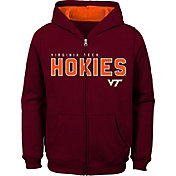 Outerstuff Youth Virginia Tech Hokies Maroon Full-Zip Fleece Hoodie