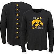 Outerstuff Youth Iowa Hawkeyes Ultra Long Sleeve Black T-Shirt
