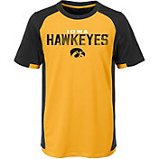 Outerstuff Youth Iowa Hawkeyes Gold/Black Circuit Breaker Performance T-Shirt