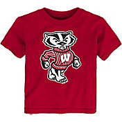 Gen2 Toddler Wisconsin Badgers Red Standing Mascot T-Shirt