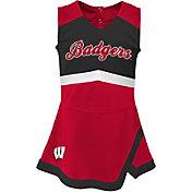 Gen2 Girls' Wisconsin Badgers REd Cheer Captain 2-Piece Jumper Dress