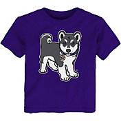Gen2 Toddler Washington Huskies Purple Standing Mascot T-Shirt