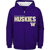 Gen2 Youth Washington Huskies Purple Full-Zip Fleece Hoodie
